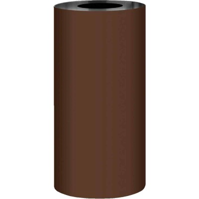 NorWesco 14 In. x 50 Ft. Brown Galvanized Roll Valley Flashing