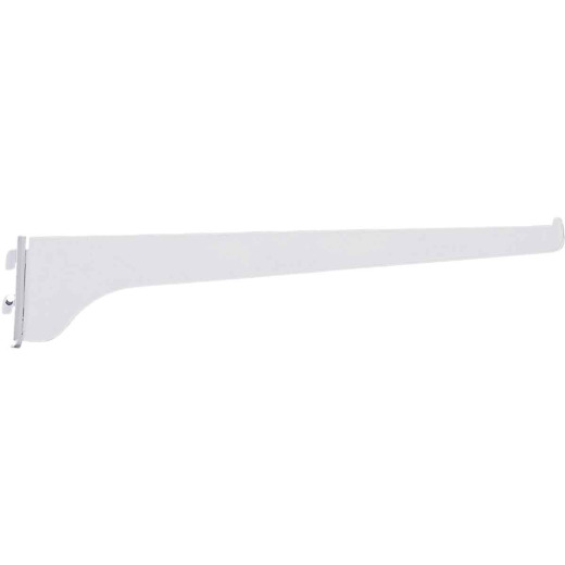 Knape & Vogt 180 Series 10 In. Titanium Steel Regular-Duty Single-Slot Shelf Bracket