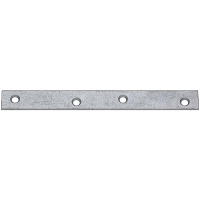 National Catalog 118 8 In. x 7/8 In. Galvanized Steel Mending Brace