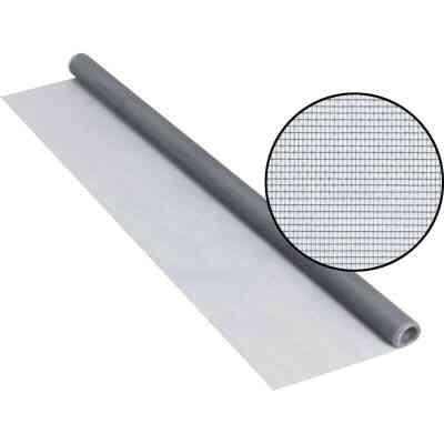Phifer 30 In. x 84 In. Gray Fiberglass Screen Cloth Ready Rolls