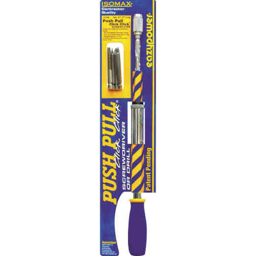 Eazypower Push Pull Click Click Screwdriver/Hand Drill