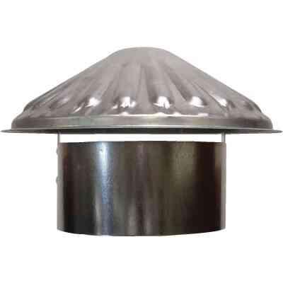 S & K Galvanized Steel 6 In. x 9-1/2 In. Vent Pipe Cap