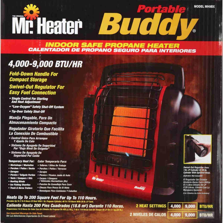 MR. HEATER 9000 BTU Radiant Portable Buddy Propane Heater Image 7