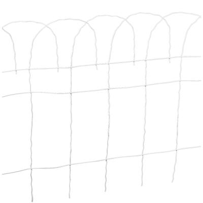 Best Garden 14 In. H x 20 Ft. L Galvanized Wire Decorative Border Fence